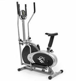 Elliptical Machine Cross Trainer 2 in 1 Exercise Bike Cardio