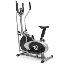 Plasma Fit Elliptical Machine Cross Trainer 2 in 1 Exercise