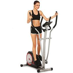 Elliptical Machine Trainer Magnetic Smooth Quiet Driven with