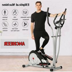 Elliptical Machine Trainer Magnetic Smooth Quiet Driven 8 Ma