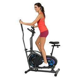Elliptical / Recumbent Bike 2-in-1 Duo Trainer with Seat Exe