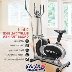 elliptical trainer cross exercise bike fitness workout