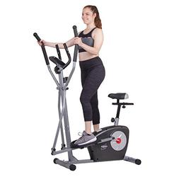Body Rider BRM3635 Elliptical Trainer and Exercise Bike with