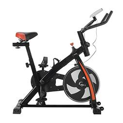Lovelystar Exercise Bike Indoor Cycling Ultra-Quiet Stationa