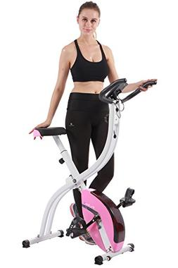 Exercise Bike Upright Stationary Foldable Fitness Indoor Car