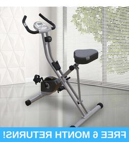 EXERPEUTIC UPRIGHT FOLDING BIKE WITH AIRSOFT SEAT 8 LEVEL MA