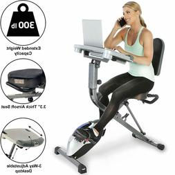 Exerpeutic Exerwork 1000 Fully Adjustable Desk Folding Exerc