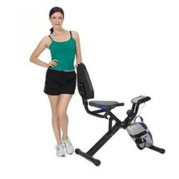 ProGear Extended Capacity Compact Recumbent Bike with Heart