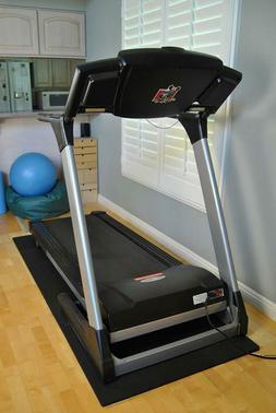 Wonder Mat Extra Thick Black Treadmill Waterproof Mat