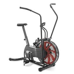 Marcy Fan Exercise Bike with Air Resistance System – Red a