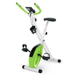 Marcy Foldable Upright Exercise Bike Stationary Compact Bicy