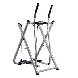 Costway Folding Air Walk Trainer Exercise Fitness Glider Ste