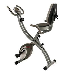 Sunny Health & Fitness Folding Exercise Bike with Magnetic S