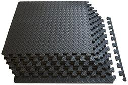 ProSource fs-1908-pzzl Puzzle Exercise Mat EVA Foam Interloc