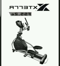 XTERRA FS5.2e Elliptical Exercise Machine Trainer NEW IN BOX