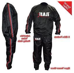 RAD Heavy Duty Sweat Suit Sauna Exercise Gym Suit Fitness We