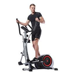 Home electromagnetic control mute fitness elliptical machine