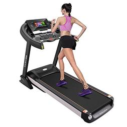 Ziema Home Gym Treadmill, 15.6 inch WIFI Color Touch Screen