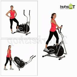 Home Gym Workout Elliptical Bike 2 IN 1 Cross Trainer Exerci