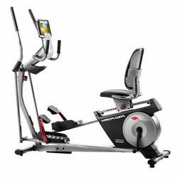 hybrid xt elite trainer elliptical and recumbent