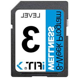iFIT Exercise Workout SD Card - 8-Week 'Wellness' Program Le