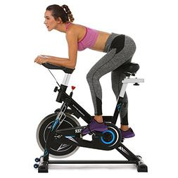 ANCHEER Indoor Cycling Bike, Belt Drive Spin Bike With 49 LB