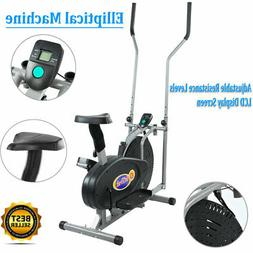 indoor elliptical exercise fitness trainer workout machine