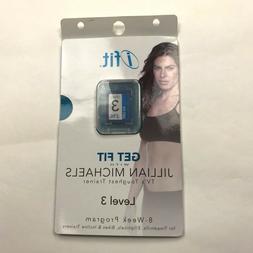 ifit Jillian Michaels Get Fit Level 3 SD Card Workout Treadm