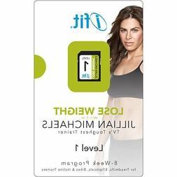 iFIT JILLIAN MICHAELS SD CARD - Weight Loss Program Level 1