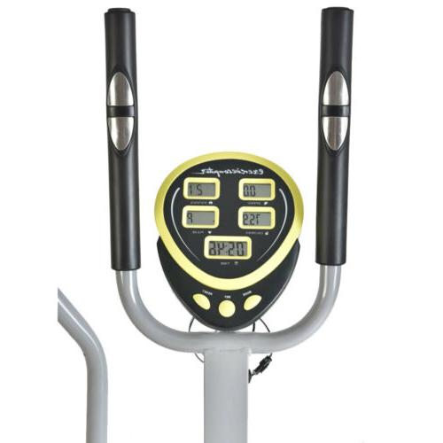 Elliptical in 1 Fitness Workout Exercise Equipment