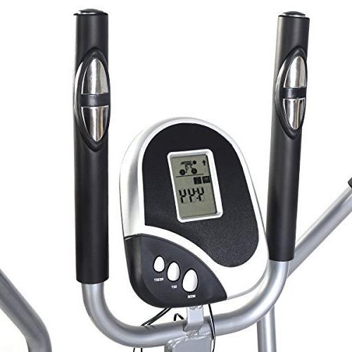Goplus 2 1 Elliptical Dual Cross Trainer Machine