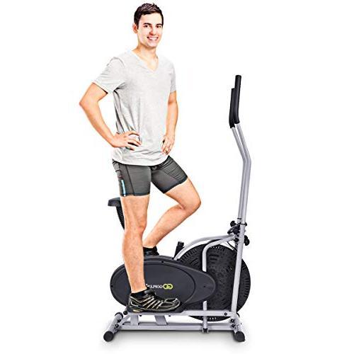 Goplus Elliptical Fan Trainer Home Gym
