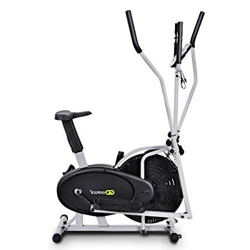 Elliptical Cross Trainer Machine Workout Home Gym
