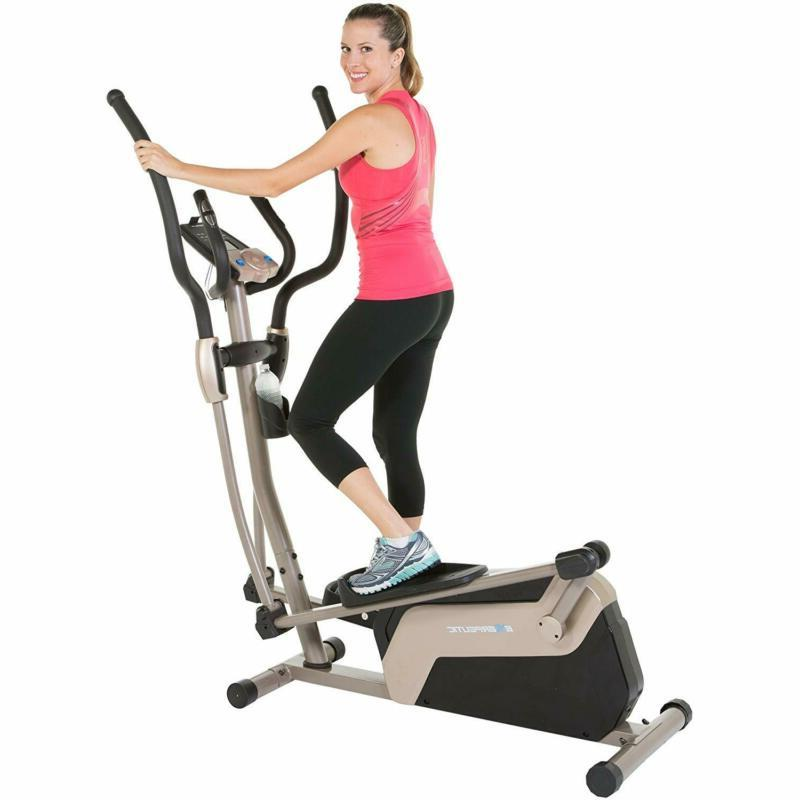 1318 5000 magnetic elliptical trainer with double