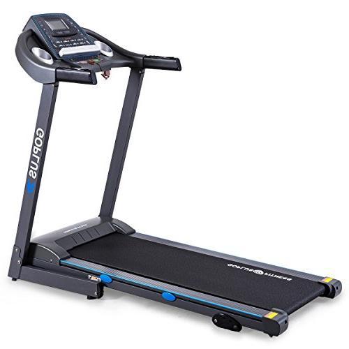 2 25hp electric treadmill foldable