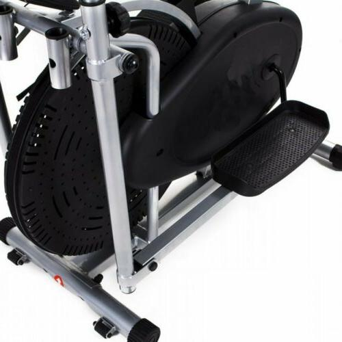 2 IN1 Stepper Bike Trainer Cardio Fitness Workout