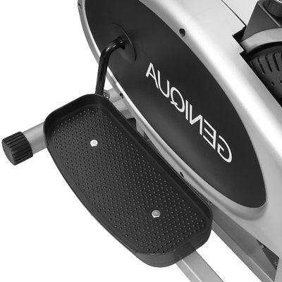 2 1 Elliptical Bike Trainer Exercise Fitness Workout Machine