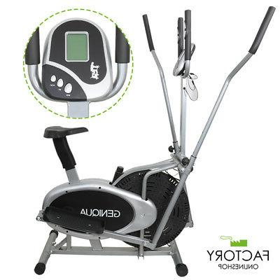 2 in 1 elliptical bike cross trainer
