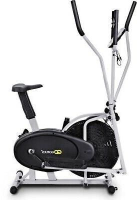 2 Elliptical Dual Machine Fan Bike Design