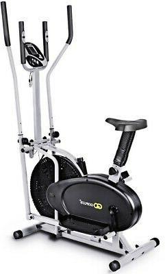 2 in 1 Dual Cross Trainer Fan Bike Adjustable Design