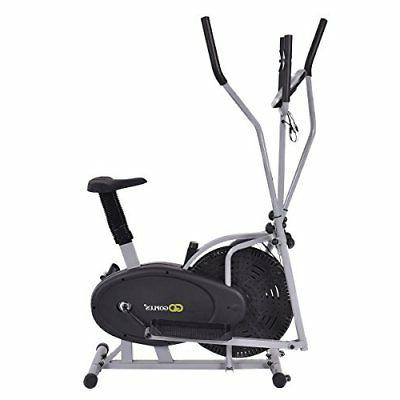 Goplus Elliptical Fan Cross Exercise Workout...
