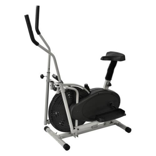 2 1 Machine Upright Bike Trainer Fitness Workout