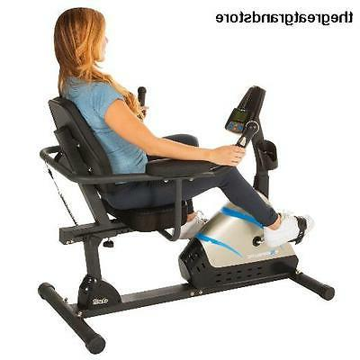 2000 programmable magnetic recumbent bike