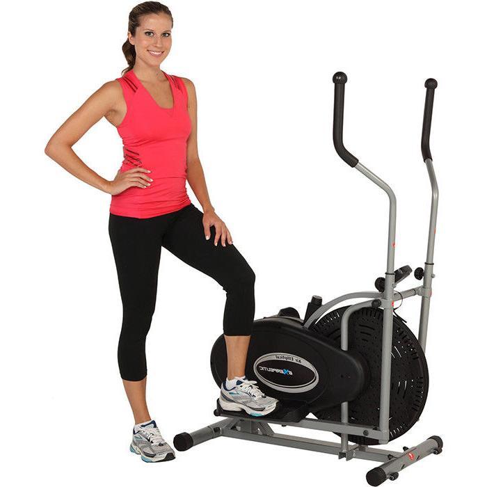 Exerpeutic 260 Air Elliptical Exercise Workout Machine Gym I