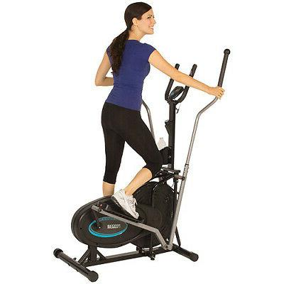 ProGear 300LS Extended Capacity Air Elliptical with Heart Pu