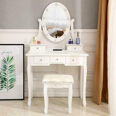 5 Vanity Table with Lights Mirror