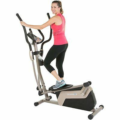 5000 magnetic elliptical trainer with double transmission