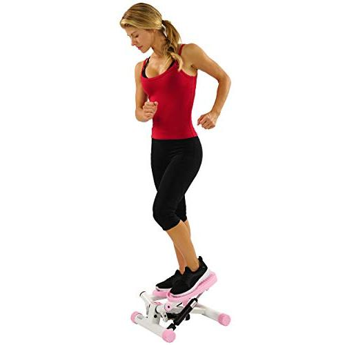 Sunny and Fitness Adjustable Twist Stepper,