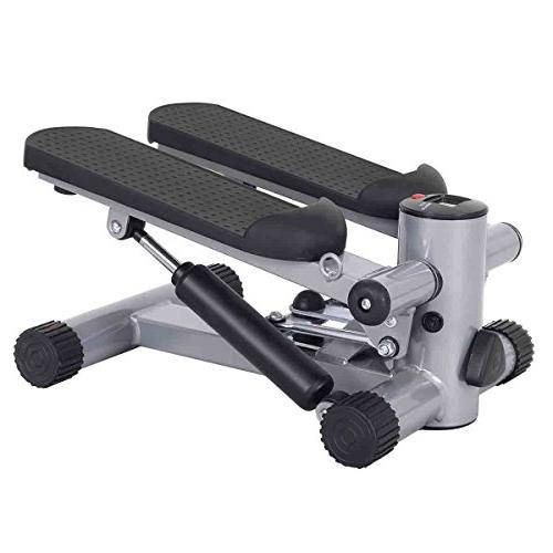 Goplus Stepper Exercise Machine w/Resistance Band