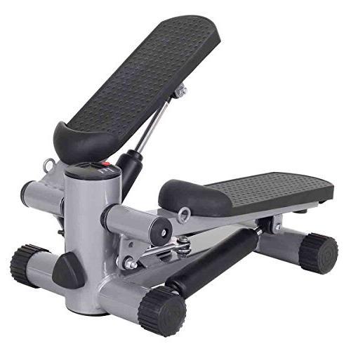 Goplus Step Climber Stepper Twister Aerobic Exercise Machine w/Resistance